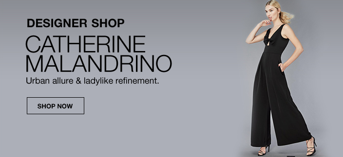 Designer Shop, Catherine Malandrino, Urban allure and ladylike refinement, Shop Now