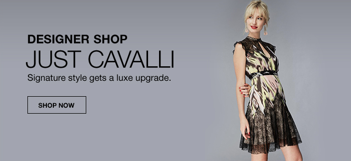 Designer Shop, Just Cavalli, Signature style gets a luxe upgrade, Shop now