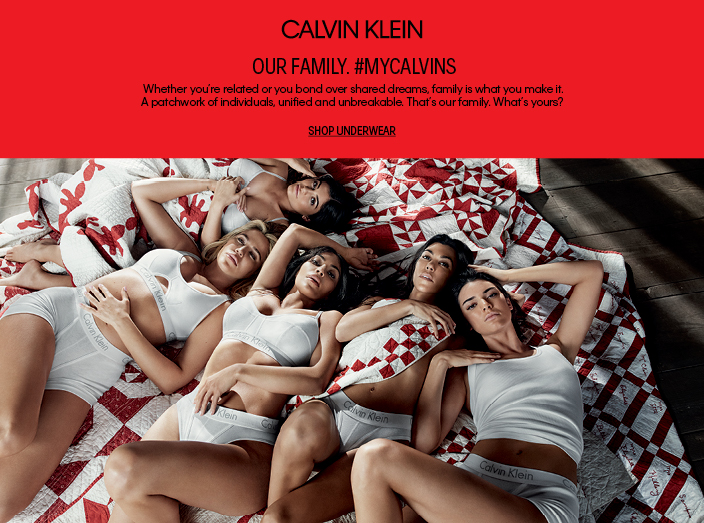 Calvin Klein, Our Family #Mycalvins, Shop Underwear
