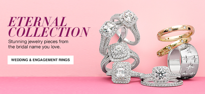 Eternal Collection, Stunning jewelry pieces from the bridal name you love, Wedding and Engagement Rings