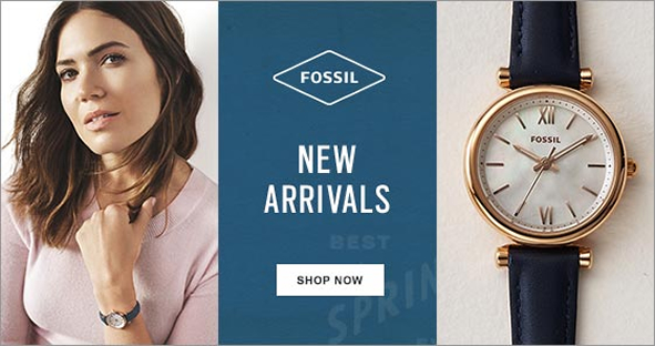 Fossil, New Arrivals, Shop Now