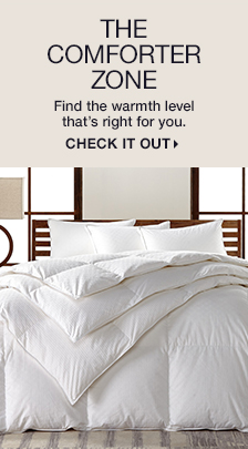 The Comforter Zone, Find the warmth level that's right for you, Check it Out