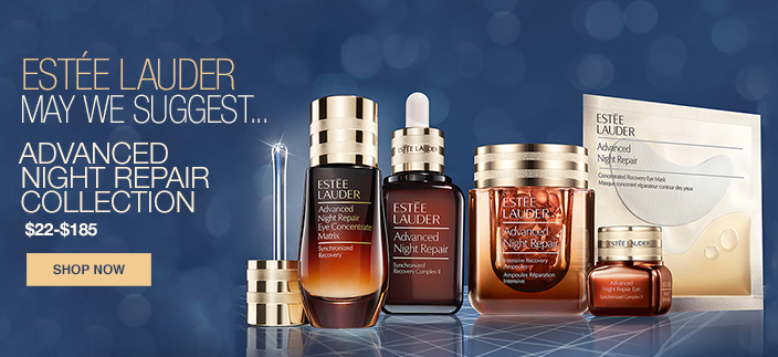 Estee Lauder Mat we Suggest, Advanced Night Repair Collection, $22-$185, Shop now