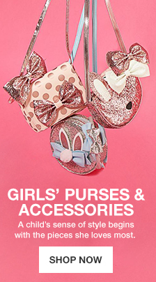 Girls'Purses and Accessories, A child sense of style begins with the pieces she loves most, Shop Now