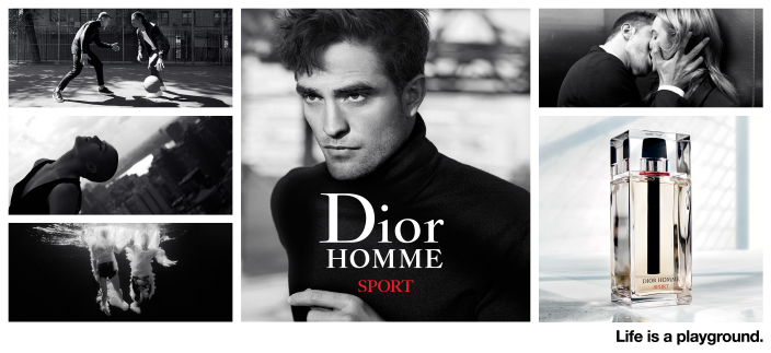 Dior Homme Sport, Life is a playground