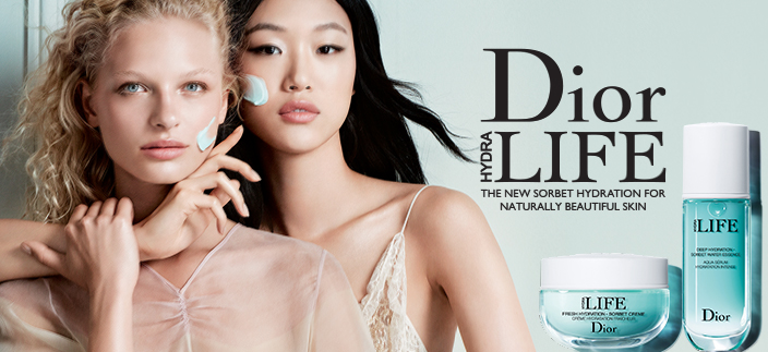 Dior Hydra Life, The New Sorbet Hydration for Naturally Beautiful Skin