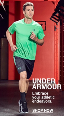 Under Armour, Embrace your athletic endeavors, Shop Now
