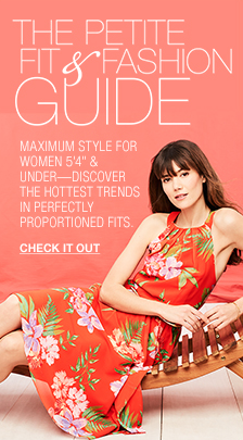 "The Petite fit and Fashion Guide, Maximum Style for Women 5'4"" and Under-Discover the Hottest Trends in Perfectly Proportioned Fits, Check it out"