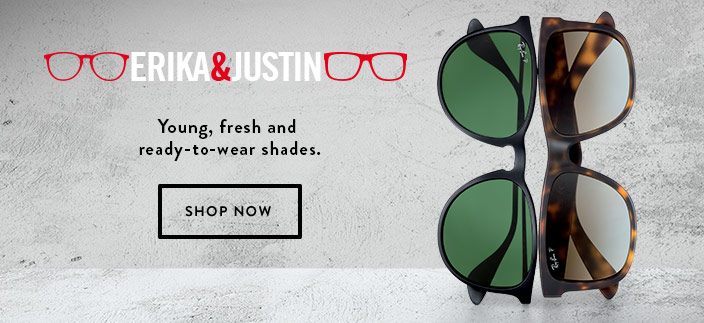 Erika and Justin, Young, fresh shades, Shop Now