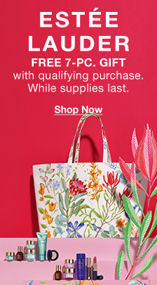 Estee Launder, Free 7- Pc, Gift with qualifying purchase, supplies last, Shop Now