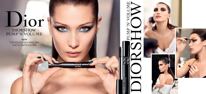Dior Diorshow Pump'n'volume, New The Squeezable Mascara for Extreme Volume, Pump'n'volume, Diorshow