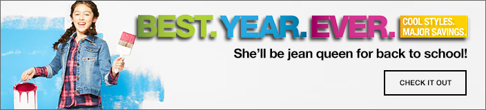 Best Year Ever, She'll be jean queen for back to school! Check it out