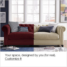 Your space, designed by you ( for real), Customize it