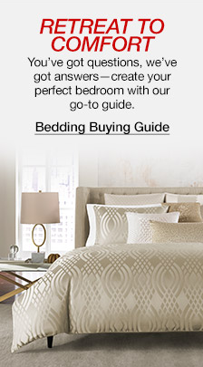 Retreat to Comfort, You've got questions, we've got answers-create your perfect bedroom with our go-to guide, Bedding Buying Guide