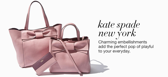 Kate spade new york, Charming embellishments add the perfect pop of playful to your everyday