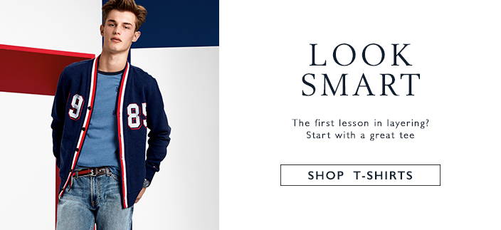 Look Smart, The First lesson in Layering? Start with a great tee, Shop T-Shirts