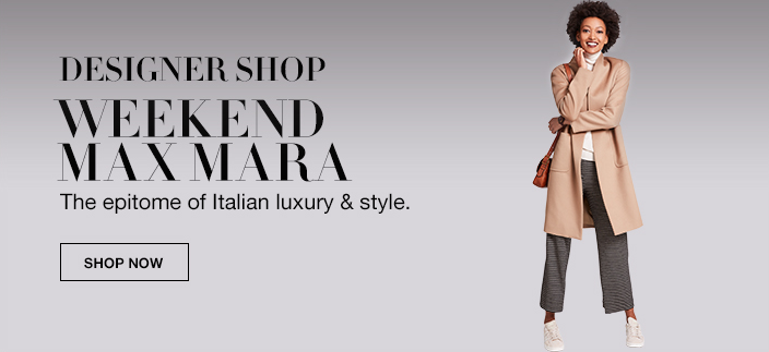 Designer Shop, Weekend Max Mara, The epitome of Italian luxury and style, Shop now