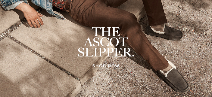 The Ascot Slipper, Shop now