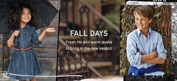 Fall Days, Fresh fits and warm layers to bring in the new season