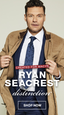 Created for Macy's, Ryan Seacrest distinction, Shop now