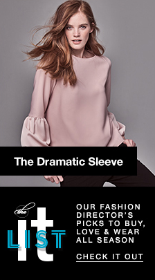 The Dramatic Sleeve, It List, Our Fashion Director's Picks to Buy, Love and Wear All Season, Check it out