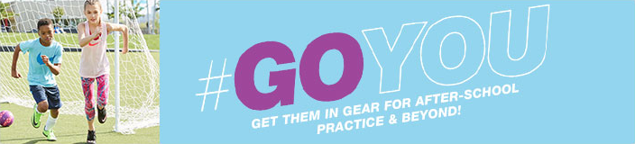 Go You, Get Them in Gear For After-School Practice and Beyond!