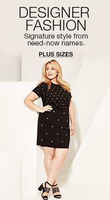 Designer Fashion Signature style from need-now names, Plus Sizes