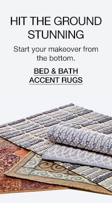 Hit The Ground Stunning, Bed and Bath Accent Rugs