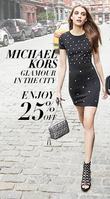 Michael Kors Glamour in the City, Enjoy 25 percent off