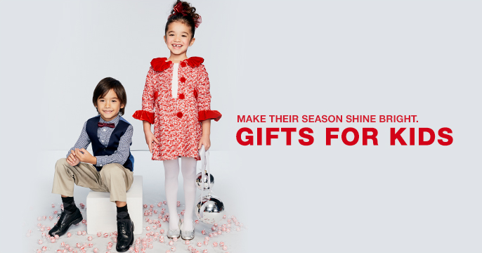 Make Their Season Shine Bright, Gifts for Kids