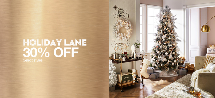 Holiday Lane 30 percent Off, Select styles