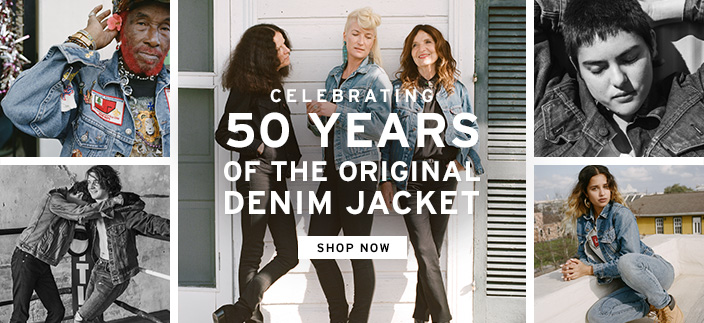 Celebrating 50 Years of The Original Denim Jacket, Shop now