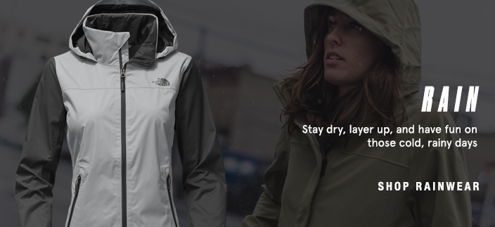 Rain, Stay dry, layer up, and have fun on those cold, rainy days, Shop Rainwear