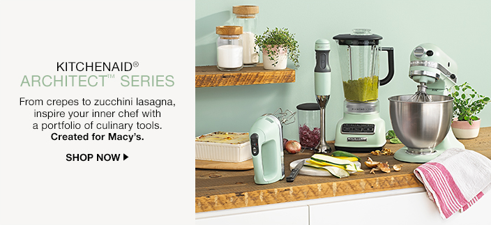 Kitchenaid, Architect Series, From crepes to zucchini lasagna, inspire your inner chef with a portfolio of culinary tools, Created for Macy's, Shop now