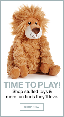 Time to Play! Shop stuffed toys and more fun finds they'll love, Shop Now