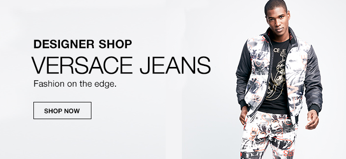 Designer Shop, Versace Jeans, Fashion on the edge, Shop Now