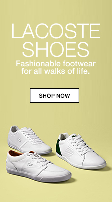 Lacoste shoes, Fashionable footwear for all walks of life, shop now