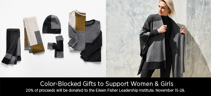 Color-Blocked Gifts to Support Women and Girls