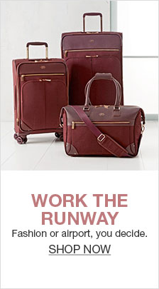 Work The Runway, Fashion or airport, you decide, Shop Now