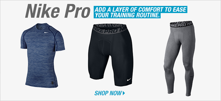 Nike Pro, Add a Layer of Comfort to Ease Your Training Routine, Shop Now