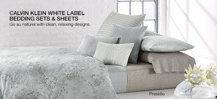 Calvin Klein White Label Bedding Sets and Sheets