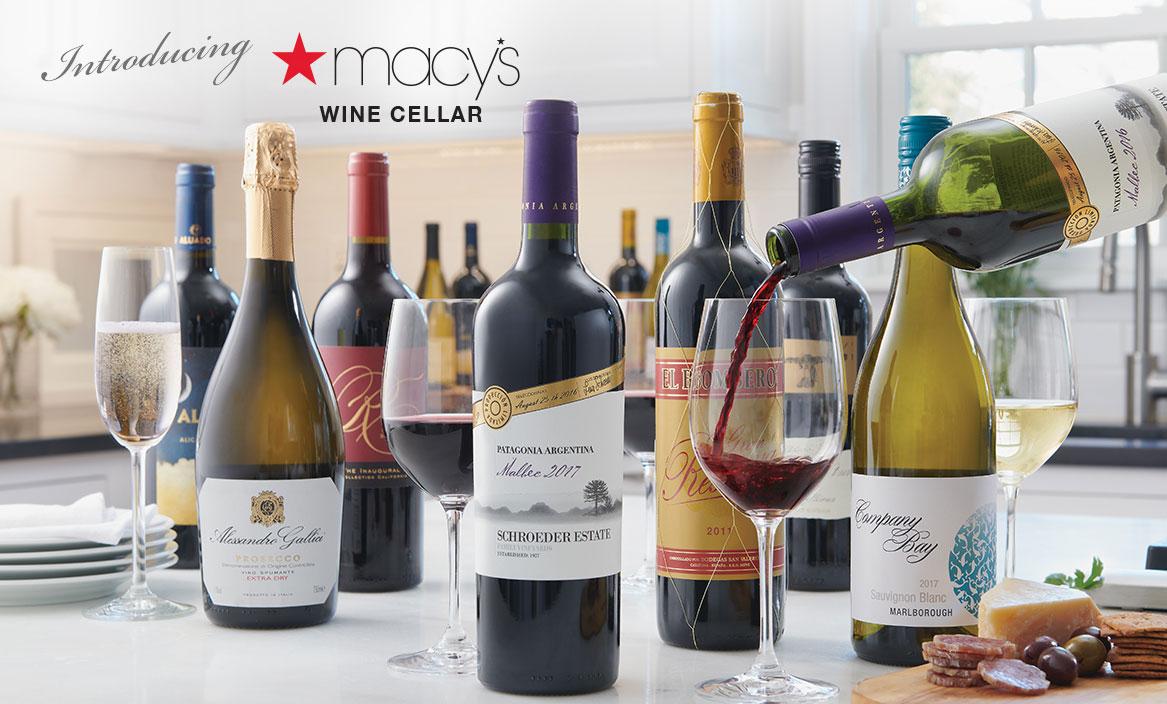 Introducing Macy's Wine Cellar