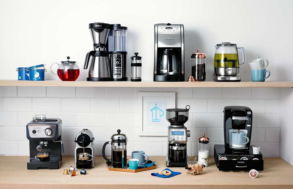 How to clean use coffee makers types of coffee makers for Types of kitchen appliances
