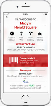 Macy's App Screenshot