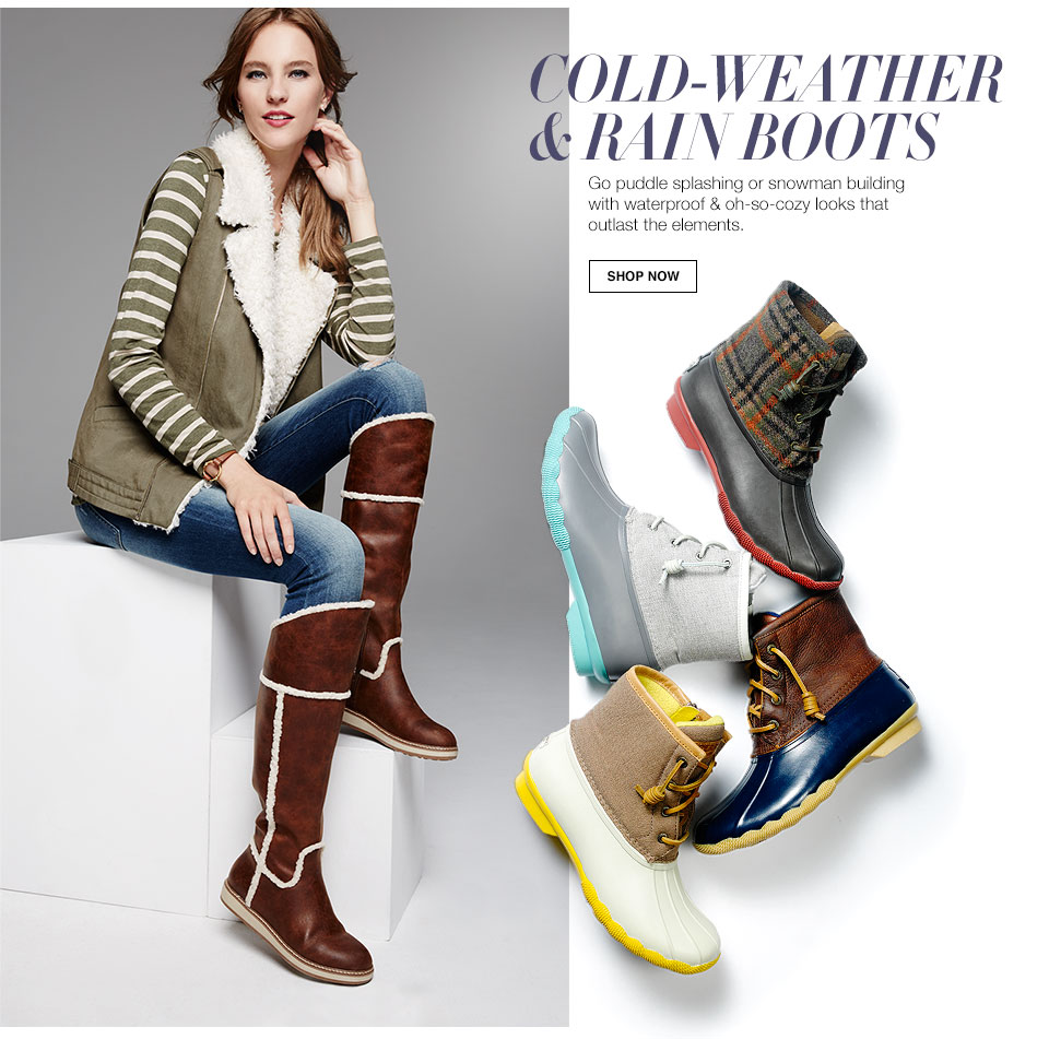 Women's Boots: Fall Rebooted - Macy's