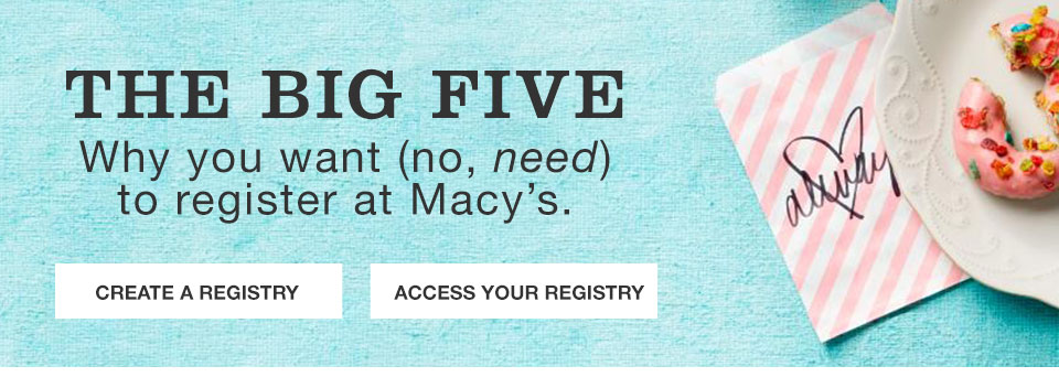 Why You Want No Need To Register At Macy S