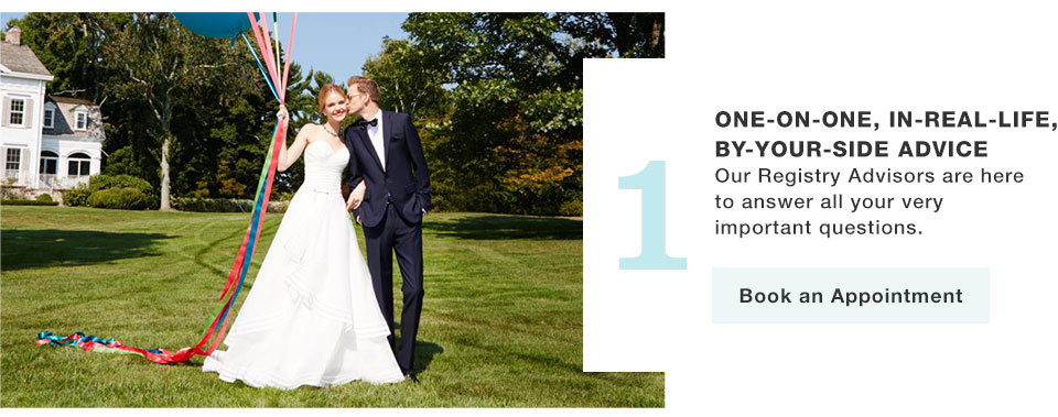 Wedding registry benefits macys one on one in real life by your junglespirit Images