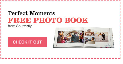 perfect moments free photo book from shutterfly.