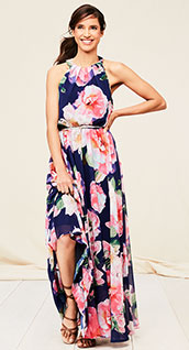 maxi dresses and jumpsuits
