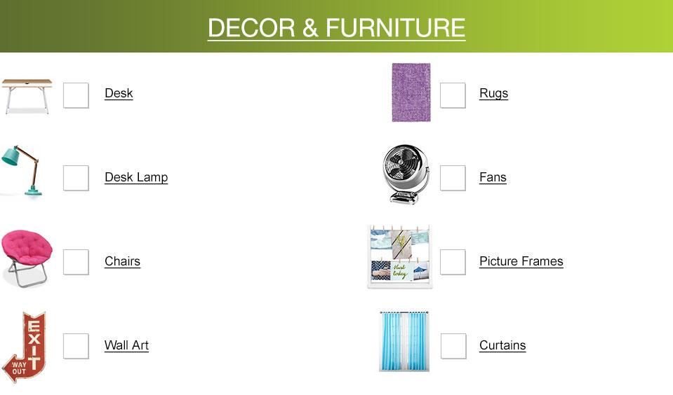 decor and furniture